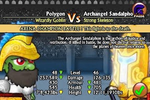 Screenshot of Swords and Sandals Lite