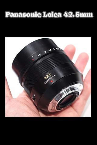 Leicaa DG Nocticron 42.5mm Len