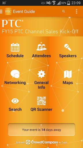 【免費商業App】PTC Channel Sales Kickoff FY15-APP點子
