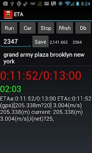 ETA - Estimated Arrival Time- screenshot thumbnail