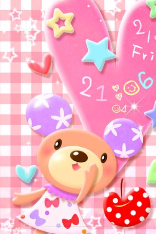 Bear Pastel ライブ壁紙