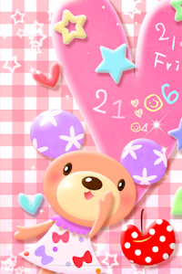 Bear Pastel.LWP screenshot 0