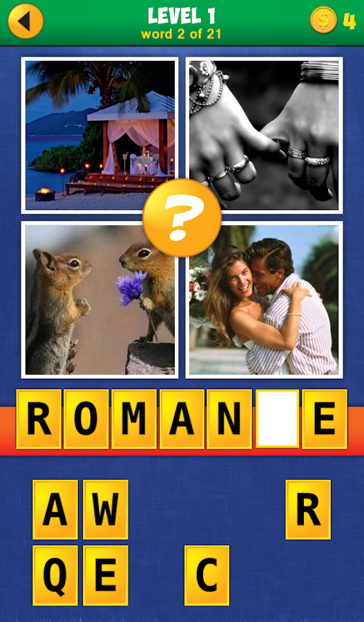 4 Pics 1 Word: Reloaded- screenshot