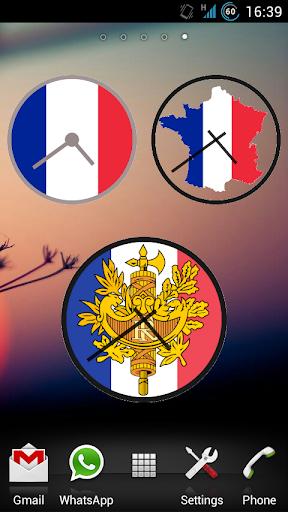 Francia - Pack de Relojes