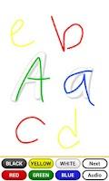 Screenshot of Learning ABC with fun (☺)