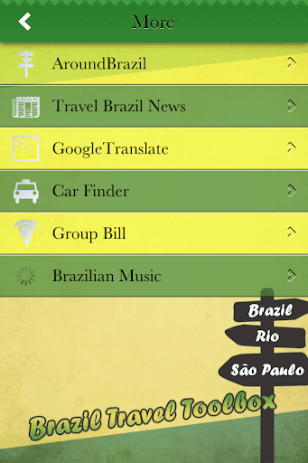 【免費旅遊App】Brazil Travel Toolbox-APP點子