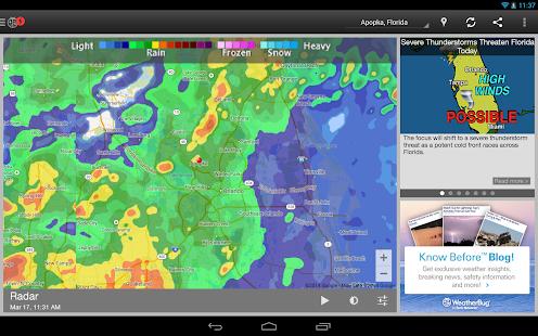 WeatherBug - Forecast & Radar Screenshot 30