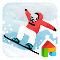 Snowboard dodol theme icon