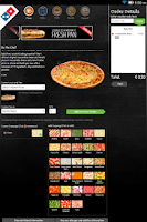 Screenshot of Domino's Pizza Nederland