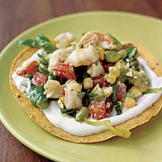 Shrimp-Avocado Tostadas