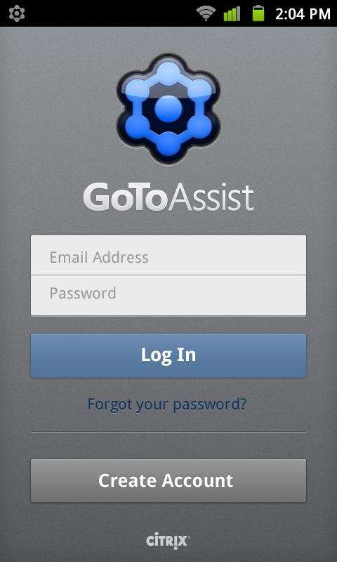 GoToAssist (Remote Support) - screenshot