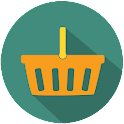 Shopping calculator icon