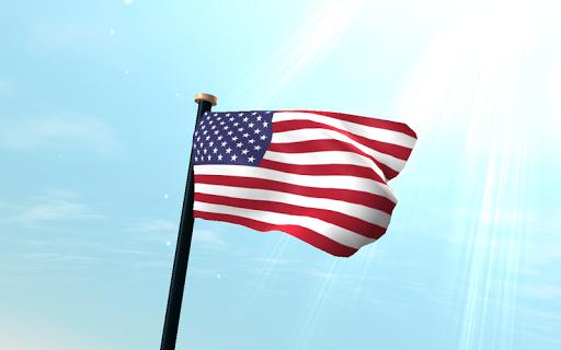 玩個人化App|米国外諸島フラグ3Dライブ壁紙免費|APP試玩