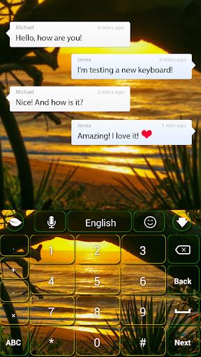 【免費個人化App】日落鍵盤-APP點子