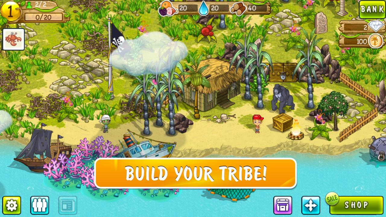 Tiny Tribe- screenshot