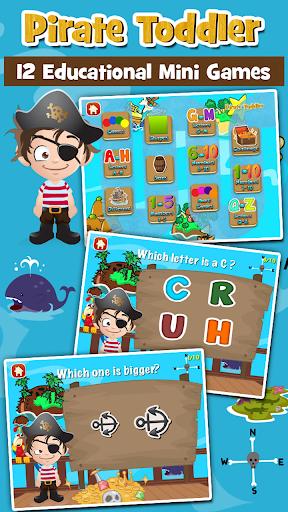 海賊の幼児の子供向けゲーム無料