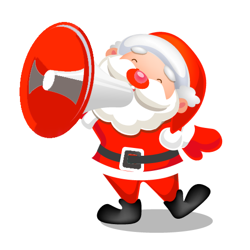 娱乐のトーキングSanta-クリスマスウィッシュ LOGO-記事Game