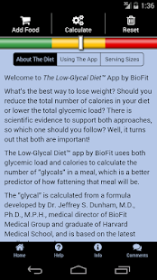 The Low-Glycal Diet™ by BioFit- screenshot thumbnail