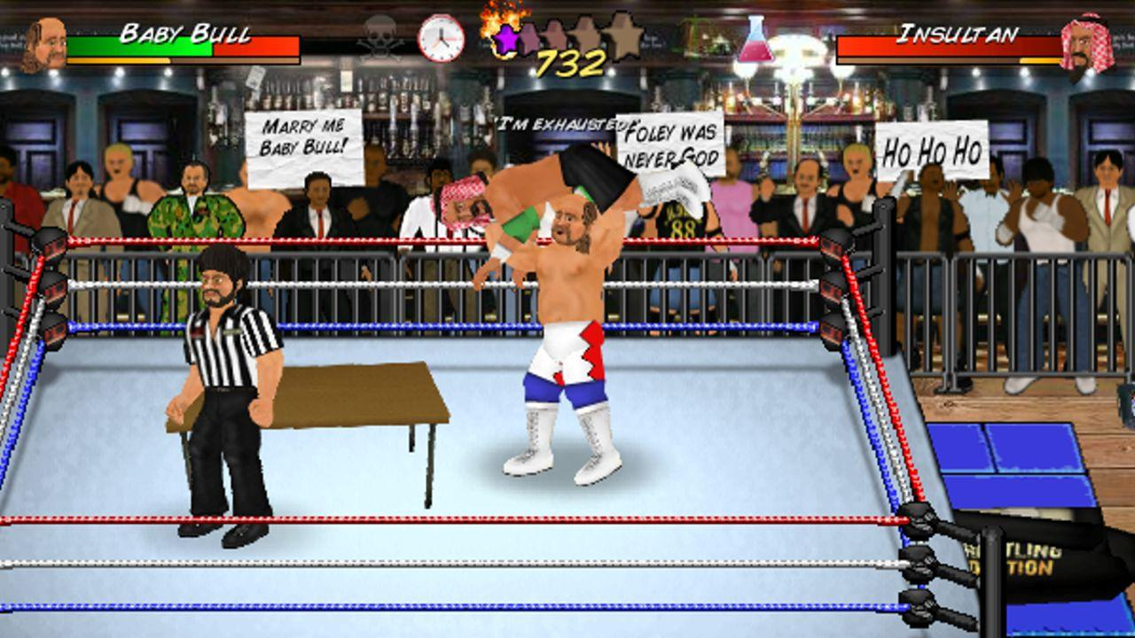 Booking Revolution (Wrestling)- screenshot