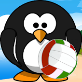 Relaxing Sand Volleyball Game