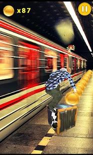 Boy Subway Run