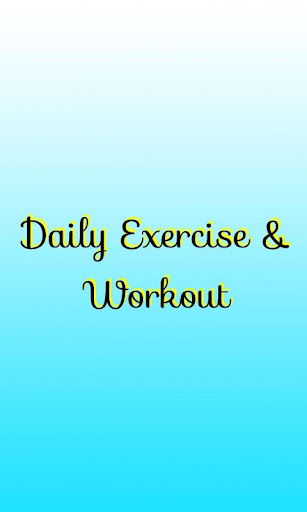 Daily Exercise Workout