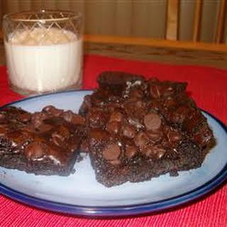 Karen A's Chocolate Dump Cake.