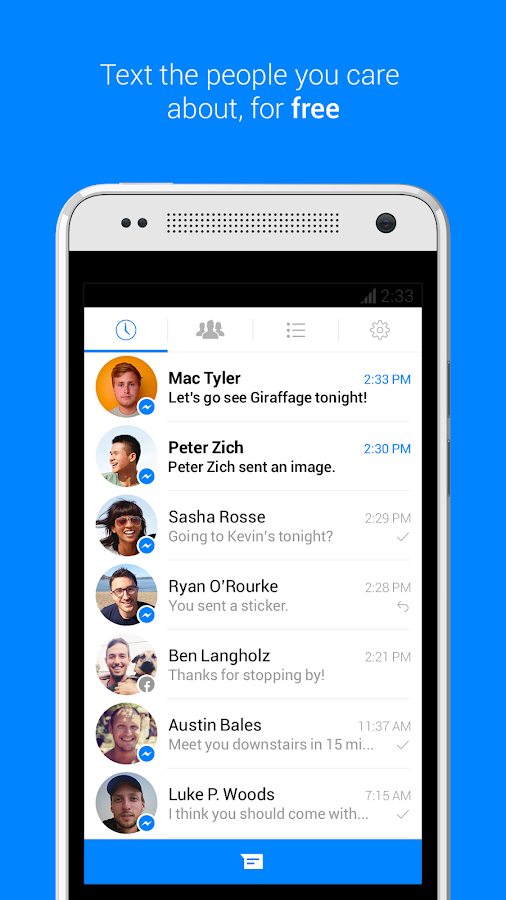 Messenger - screenshot