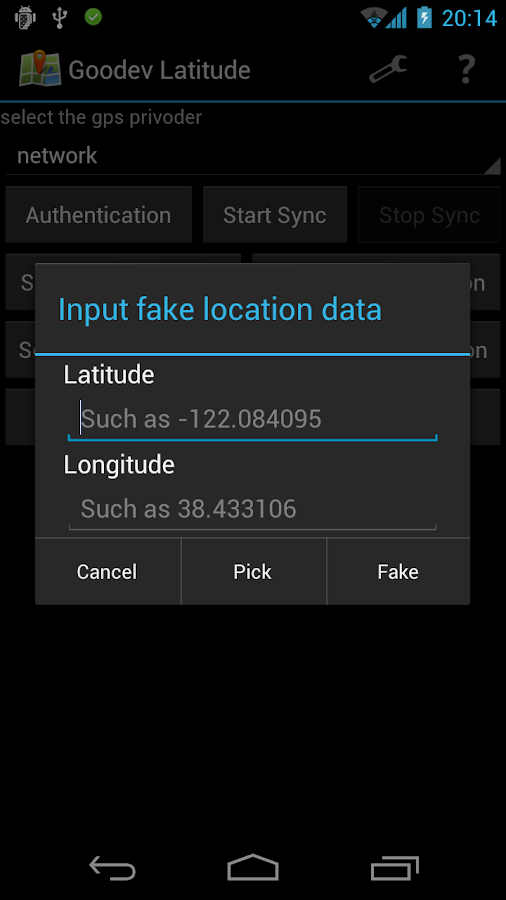 Goodev Latitude - screenshot