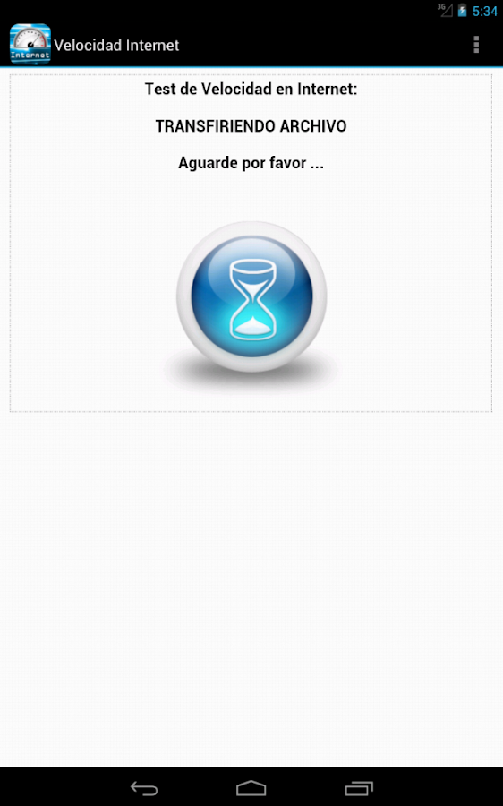Test de Velocidad de Internet - screenshot