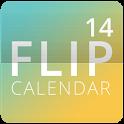 Flip Calendar + Widget 2014 icon