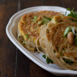 Curried Noodle Patties.