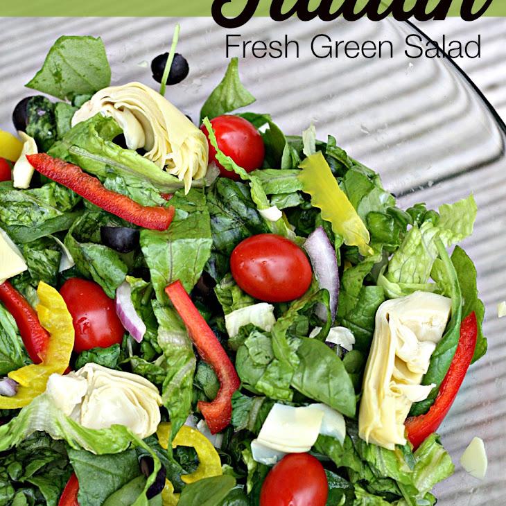 Italian Fresh Green Salad