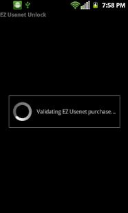 EZ Usenet Unlock- screenshot thumbnail