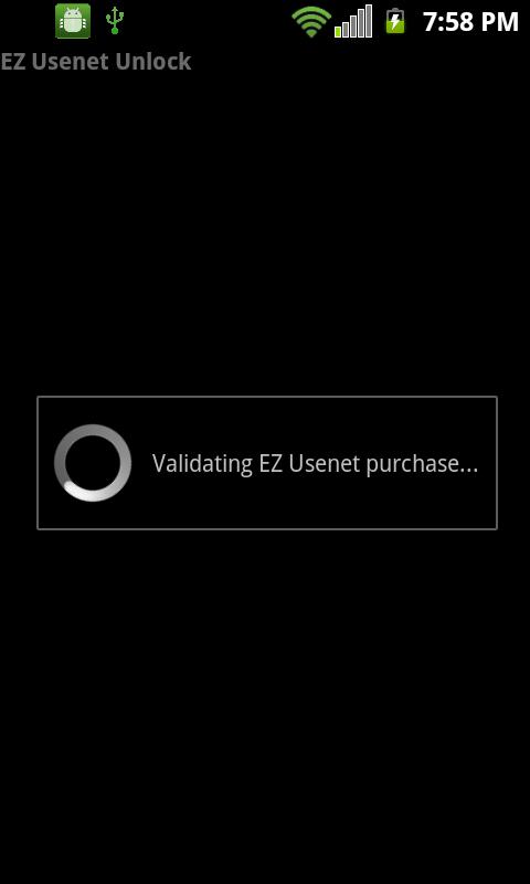 EZ Usenet Unlock- screenshot