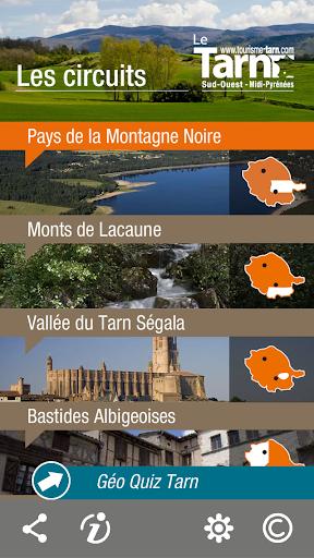 Circuits touristiques du Tarn