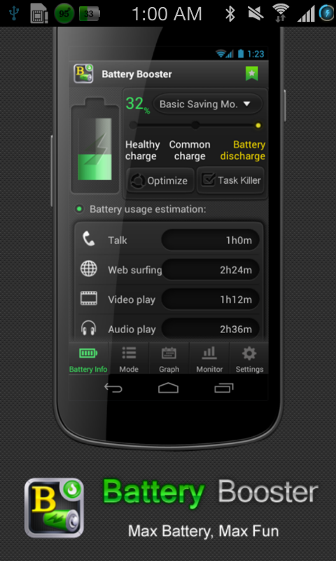 Battery Booster Lite - screenshot