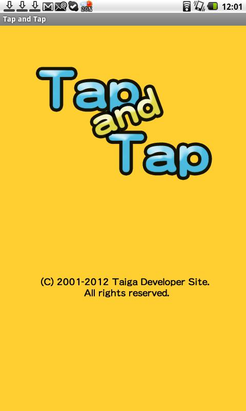 Tap and Tap - screenshot