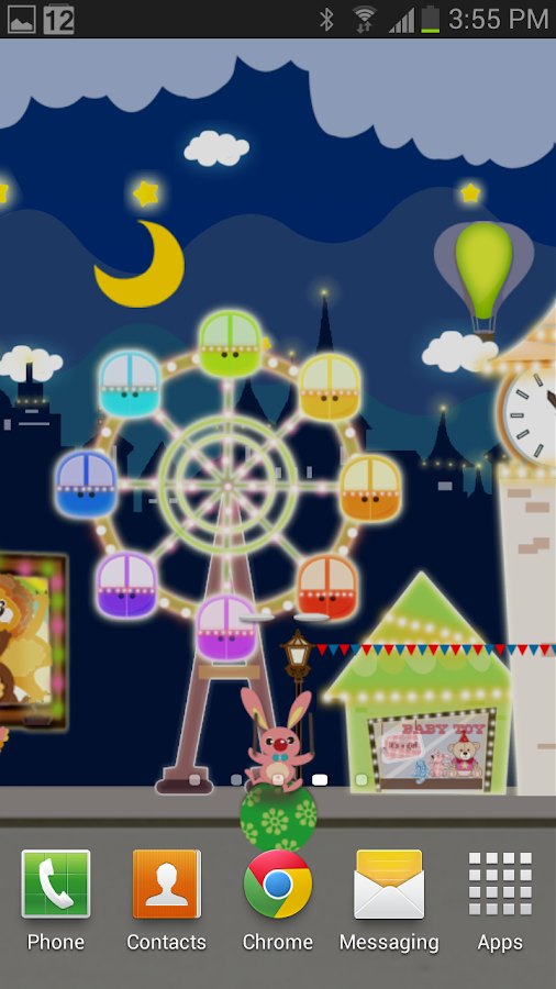 My Little Wonderland LWP - screenshot