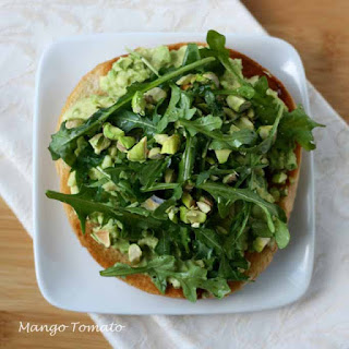 Avocado, Pistachio & Arugula Sandwich Recipe
