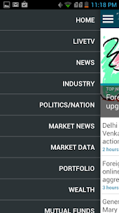 Economic Times News : NSE, BSE- screenshot thumbnail