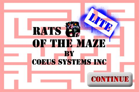 Rats of the Maze Lite - screenshot