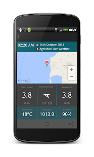 WiZoApp Live Weather- screenshot thumbnail