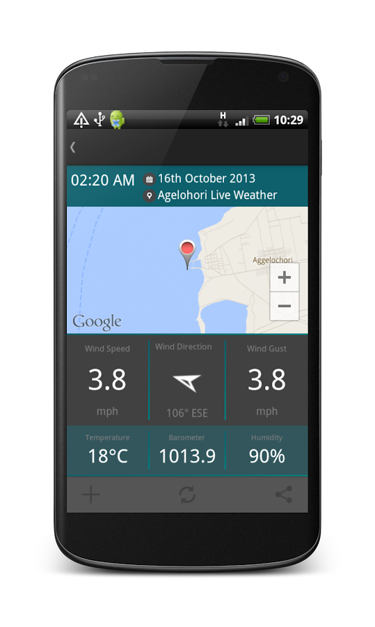 WiZoApp Live Weather- screenshot