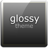 Glossy HD Theme Go launcher ex