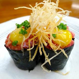Wagyu Gunkan Sushi