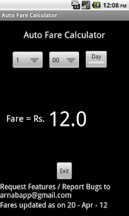 Mumbai Auto Fare Calculator - screenshot thumbnail