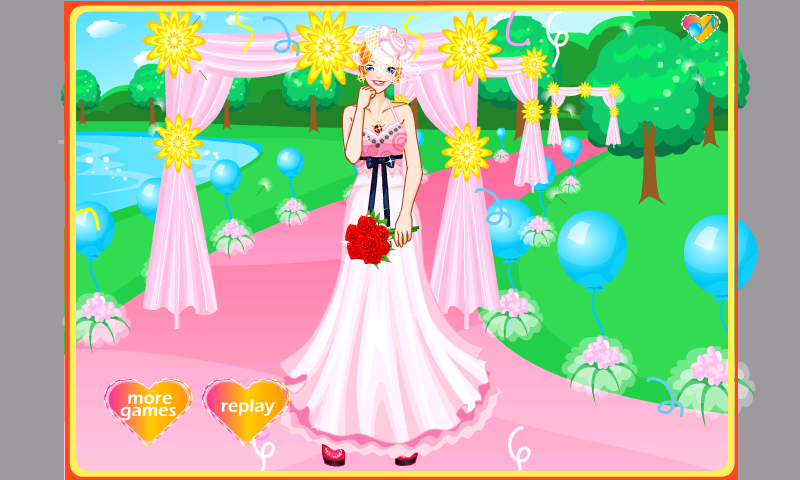 Stunning Wedding Dress Up - screenshot