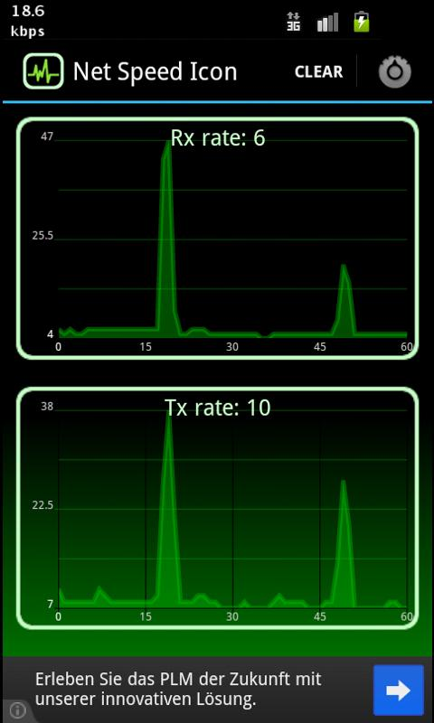Net Speed Icon: captura de pantalla