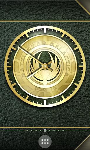 BSG Notebook Clock Widgets